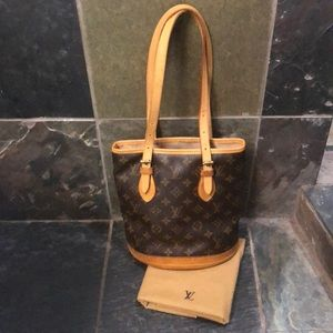 Louis Vuitton Shoulder Bag with Matching Wallet